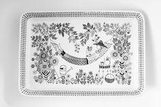 "Arabia Finland ""Emilia"" (1949-1964) by Raija Uosikkinen"