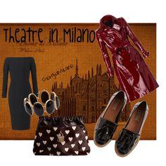 """Theatre in Milano"" by furettina on Polyvore"