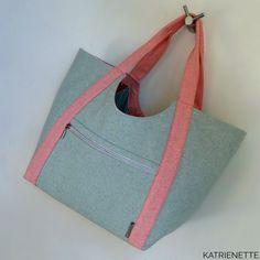 Poolside Tote, een tas voor een dagje uit Gym Bag, Handbags, Tote Bag, Wallet, Sewing, Bag Patterns, Fashion, Moda, Totes