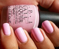 Perfect pink nail polish. My favorite color! I have this and love wearing it in the spring!!!