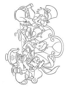 Disney Målarbilder för barn. Teckningar online till skriv ut. Nº 291