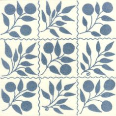William Morris Victorian Tiles for Fireplaces, Walls and Porches from Victorian Ceramics