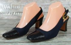 35477862775a Bruno Magli Leather Slingback Solid Heels for Women