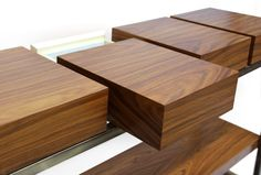 CASSIS | Modern Brass Sideboard by BRABBU