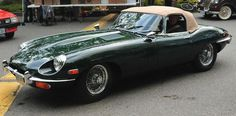 Jaguar XK-E, E Type, drop top