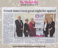 The Be Beautiful Party Night made it into the #Camberley News & Mail. #press #breastcancer #pink.