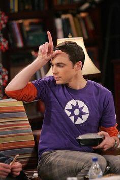 sheldon cooper, big bang theory.  Go team Leonard