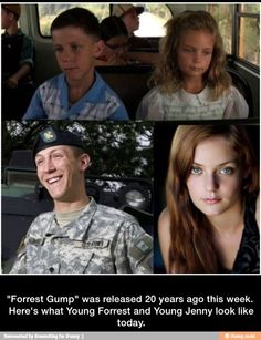 Forrest Gump 20 years later / iFunny :)