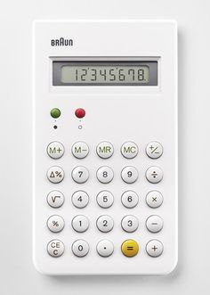 Braun ET66 (re-release) — Dieter Rams Dietrich Lubs Product Design #productdesign