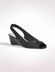 5d39f0075b9 Crossover Slingback Wedges