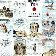 Lennon Plastic Ono Band Shaved Fish vinyl LP 1975 Near Mint condition by pickergreece on Etsy
