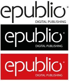 epublio's different logo versions.
