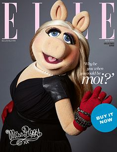 miss piggy elle cover icon