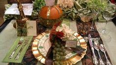 Thanksgiving tablescape by Count Kody
