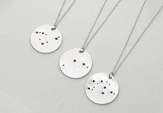 Zodiac Jewelry. Constellation Necklace. Astology Necklace.
