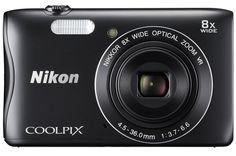 Appareil photo compact Nikon COOLPIX S3700 NOIR