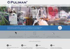Pulimán. Diseño web para empresa de limpieza de cristales en Madrid. http://www.dipixel.es/portfolio-diseno-web-barcelona/