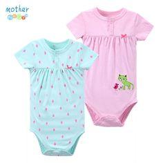 Baby Bodysuits Summer Jumpsuits Sleeveless Baby Girl Clothes Cute Fruit Girl Bodysuit Match Dress Newborn Costume Sleeveless