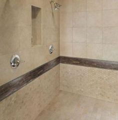 30 Bathroom Tile Ideas That Will Astonish You: Shower Tile:  Porcelain But Looks Like Stone