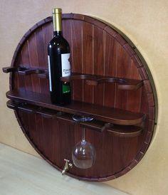 Полка навесная для хранения вина HP-001