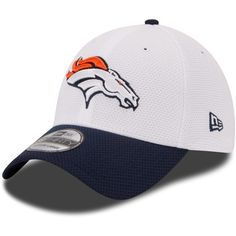 New Era Denver Broncos Nfl 2015 Training 39THIRTY Cap ($20) ❤ liked on Polyvore featuring men's fashion, men's accessories and men's hats