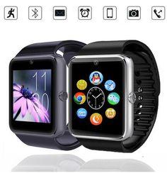 Smart Watch GT08 Clock With 1.5inch Sim Card Slot Push Message Bluetooth Connectivity Android ios Better Than DZ09 Smartwatch Digital Guru Shop