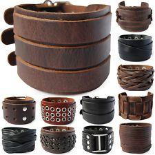 ECHT LEDERARMBAND-BREIT Surferarmband Unisex ! Bracelet Leather Armband  Herren  ebay.de Suchergebnis