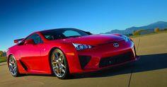 Lexus automobile - Stunning in Red