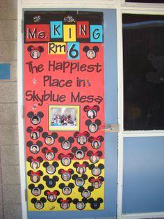 Teacher was a very big fan of Disneyland - Mickey Mouse idea.