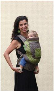 Onya Outback Carrier - Olive/Chocolate Chip $139