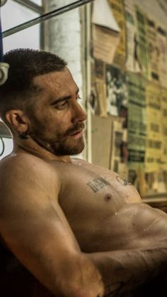 Jake in Southpaw