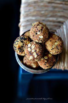 PANEDOLCEALCIOCCOLATO: Polpette di minestrone con ricotta fiocchi d' avena e semi di cumino nero e torna Threef