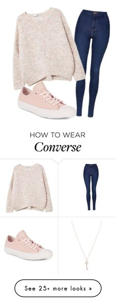 """Untitled #889"" by sydthekyd01 on Polyvore featuring Topshop, MANGO, Converse and Tiffany & Co."