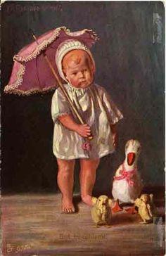 Vintage Oilette postcard | Flickr - Fotosharing!