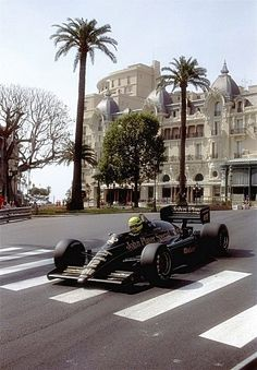Ayrton Senna king of Monaco