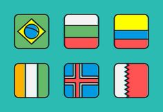 Zaficons: Flags