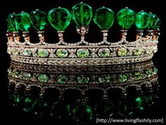 The royal Tiara was created for Princess Katharina Henckel von Donnersmarck by Guido Count von Henckel, First Prince von Donnersmarck.
