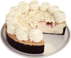 Fall in love on Valentine's Day with this decadent version of the Cheesecake Factory White Chocolate Raspberry Truffle Cheesecake. The restaurant's recipe is a top secret but t…