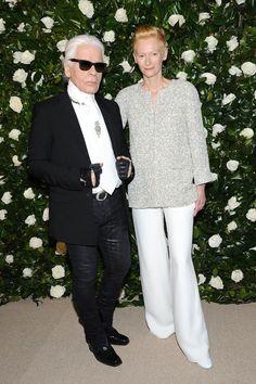 Tilda Swinton, Karl Lagerfeld - The Cut