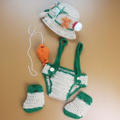 crochet knit fisherman props outfit