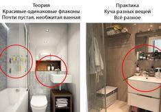 Дизайн Маленькой Ванной Комнаты — 103 реальные фото и 9 идей ремонта