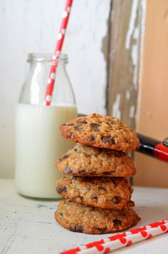 Ninas kleiner Food-Blog: Bananen-Walnuss-Schoko-Kekse