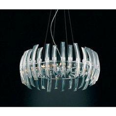 Lámpara Techo Moderna Cristal Odyssey #Ambar #Muebles #Deco #Interiorismo #Iluminacion   http://www.ambar-muebles.com/lampara-techo-moderna-cristal-odyssey.html