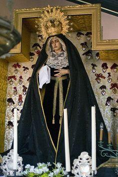 Onze Lieve Vrouwe van de Besloten Tuin in de rouw Madonna, Image, Dresses, Fashion, Carnival, Vestidos, Moda, Fashion Styles, Dress