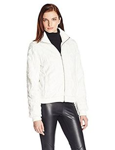 Sanctuary Clothing Women's Urban Bomber Faux Fur Jacket at Amazon Women's Coats Shop