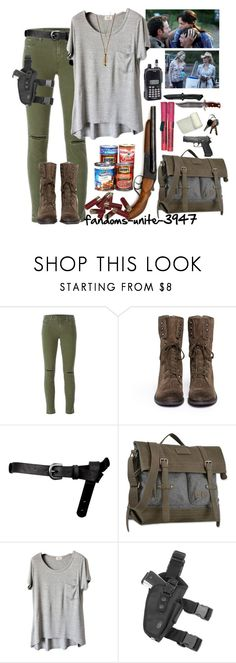 """""""//All I am anymore is a man looking for his wife and son// Rick Grimes"""" by fandoms-unite-3947 ❤ liked on Polyvore featuring J Brand, Sam Edelman, ASOS, Sherpani, INC International Concepts, Margit Brandt, women's clothing, women, female and woman"""