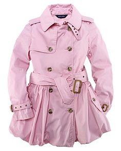Ralph Lauren Girls Pink Trench