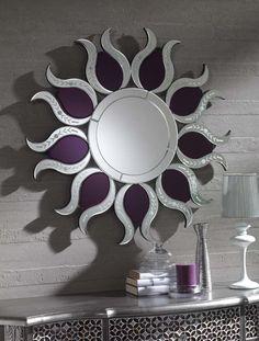 Espejos Originales de cristal CRACOVIA. Decoracion Beltran, tu tienda online en espejos de cristal.