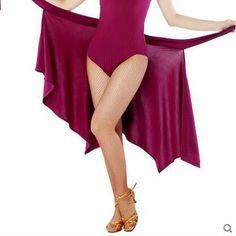 Latin Dance Dress Skirts Cha Cha Samba Rumba  Dancewear Ballroom triangular  #Unbranded