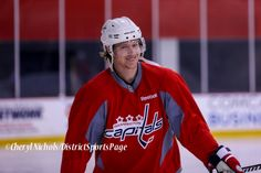 Few of my photos from this morning.....Caps Game Day Practice at Kettler Iceplex before Playoff Round One, Game One,, 4/15/2015 (Photo by Cheryl Nichols/Distict Sports Page)